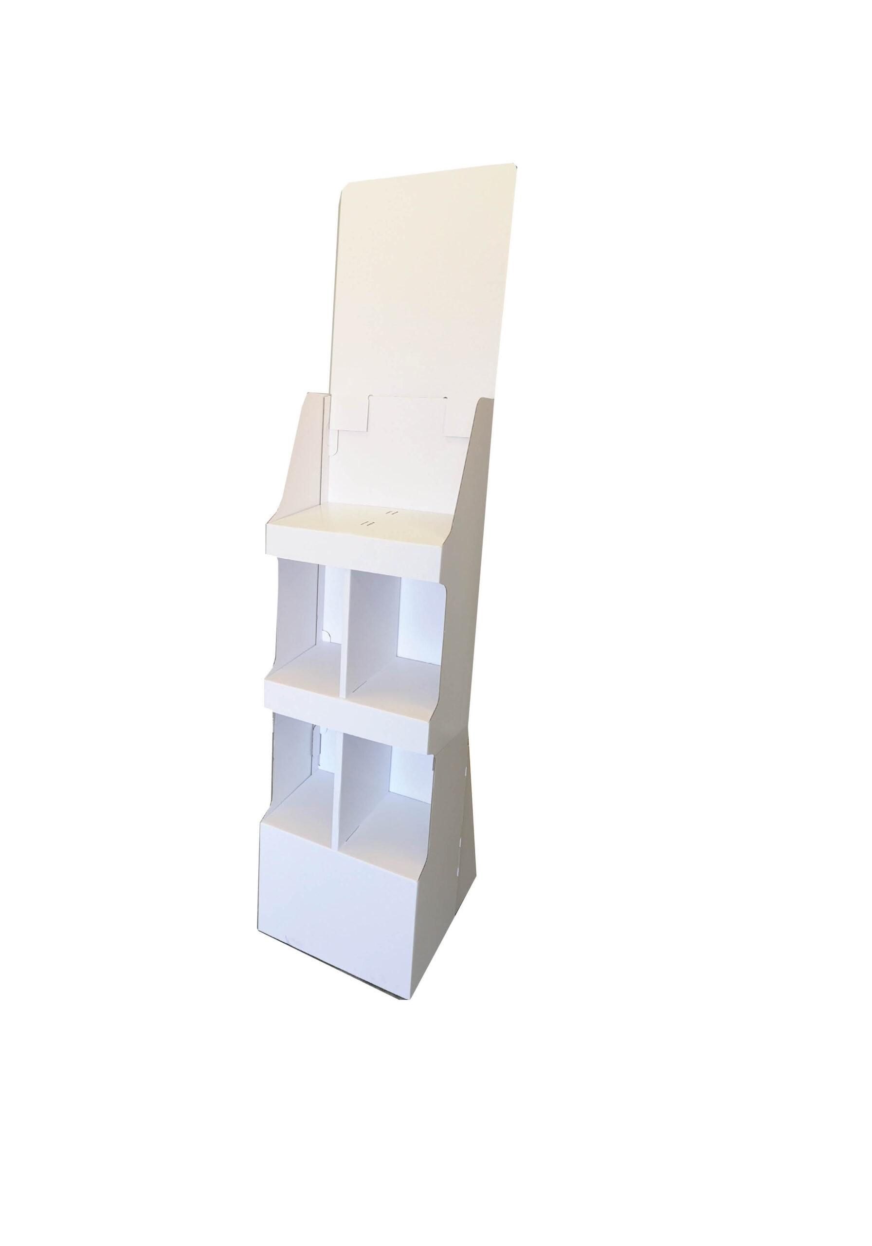 112067 golvställ med 3 hyllor för tunga produkter.