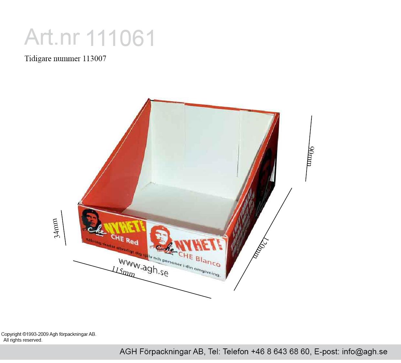 Diskdisplay 115x120x34/90mm  miniwell