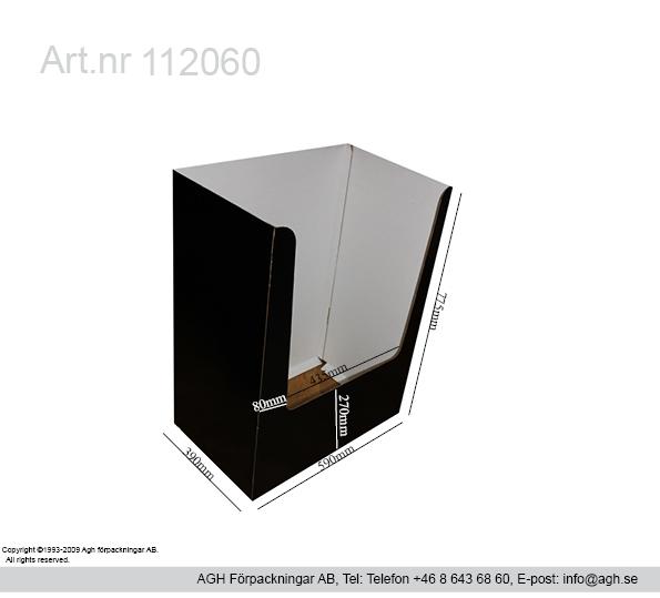 kvartspall 585x390x770mm med öppen botten.