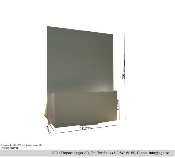 Broschyrställ A4-format(215x30x100/303mm)