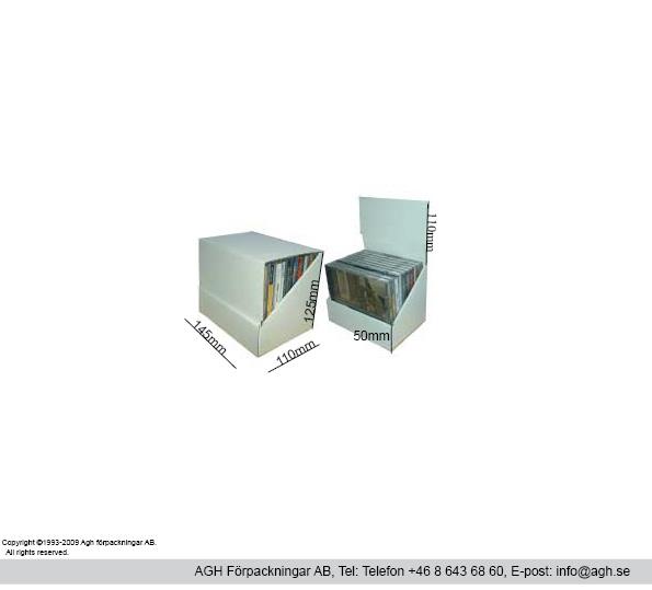 Cd ställ för 10cd format 145x110x125mm