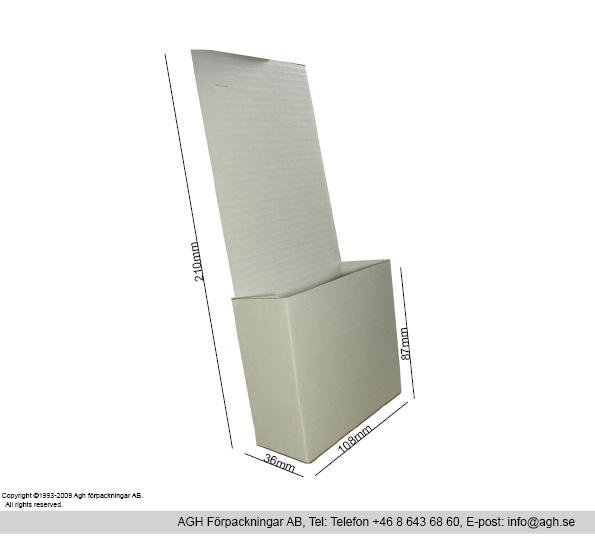 Broschyrställ-108x34x210mm