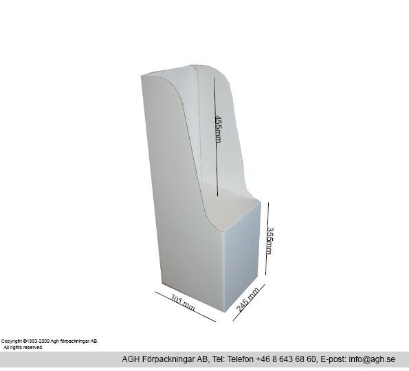 Tidningställ för minitabloid 245×305 mm