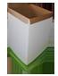 112055 Sopkorg/papperskorg 380x345x735mm 1+0 grön 50st/paket