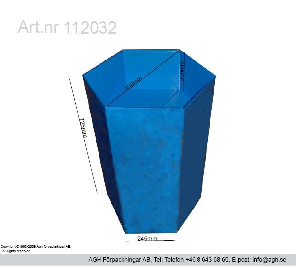 Kampanjställ på störtställs korgar format i dimeter 490 mm djup 200 mm