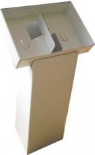Kampanj på två a4 fack ställ format 227x100mmx320