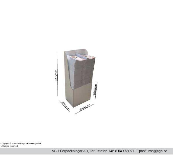 Golvtställ för kataloger och tidskrifter i A5 format