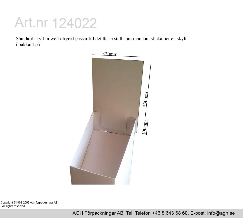 Skylt tillfälligt i lager mått 320×330 mm + slits 100 mm